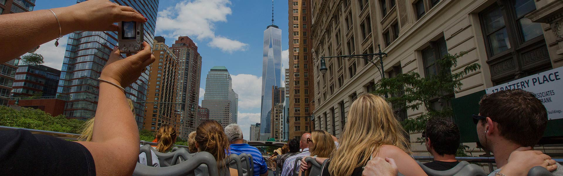 Big Bus open-top tour of New York
