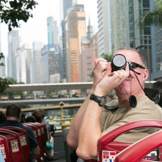 香港島遊 + 山頂纜車天票