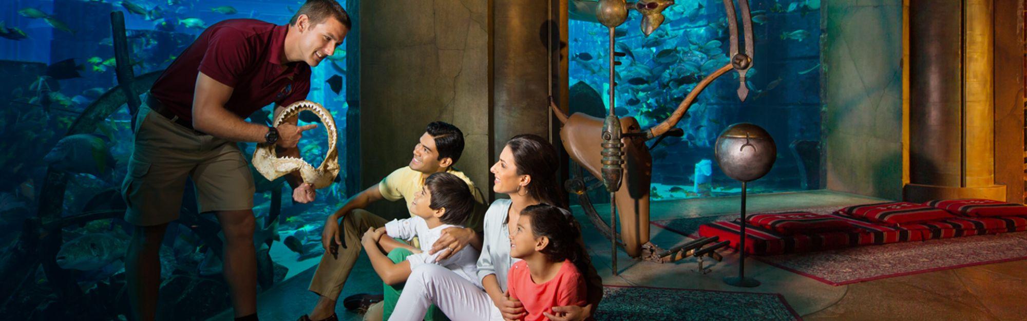Dubai The Lost Chambers Aquarium