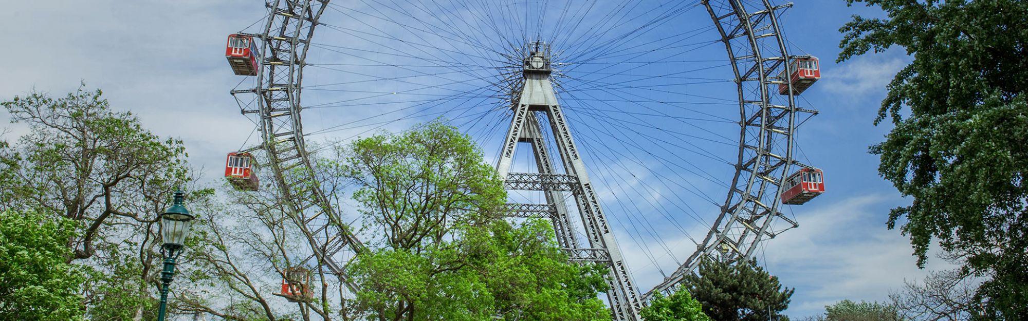 Viena Wiener Riesenrad Giant Ferris Wheel