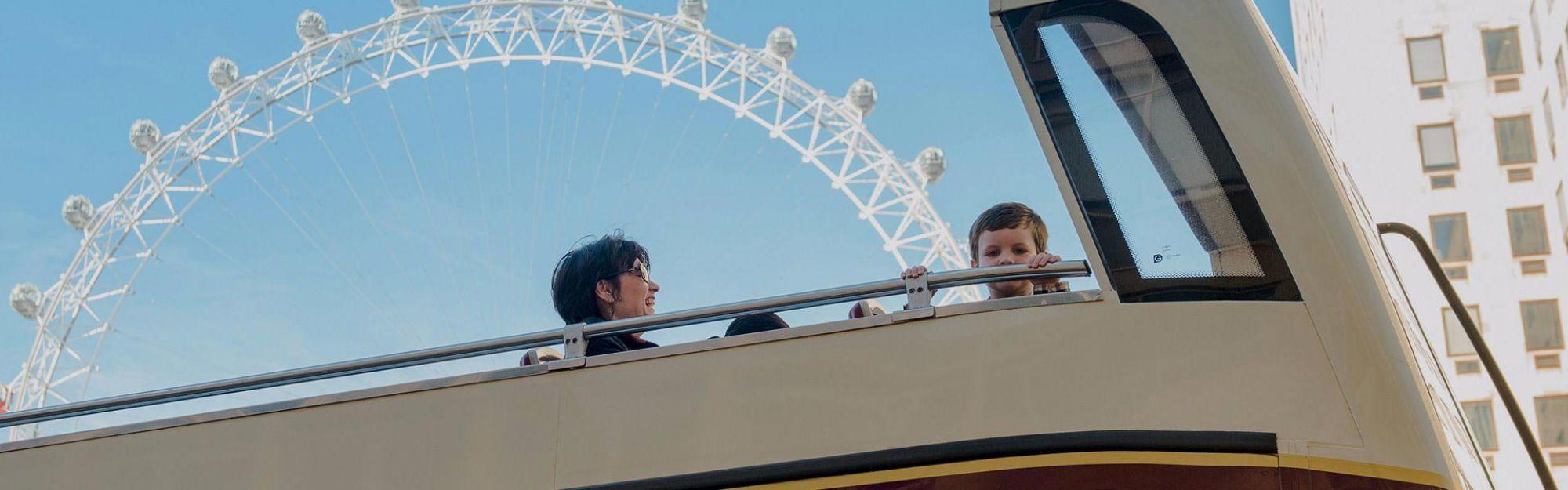 London Classic-Ticket plus London Eye - Standard-Eintritt