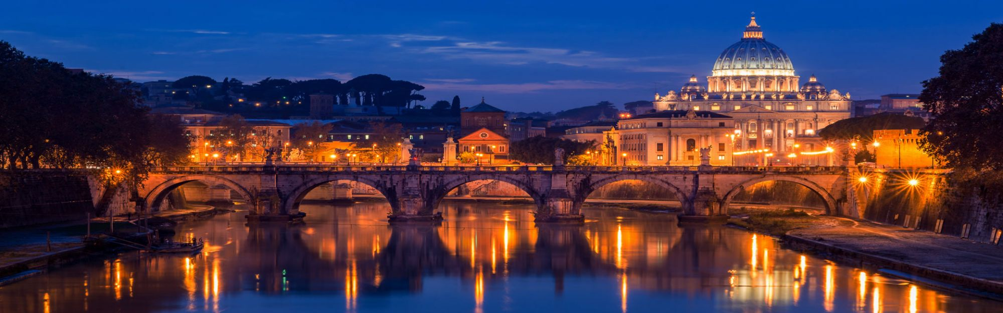 Rome Panoramic Night Tour