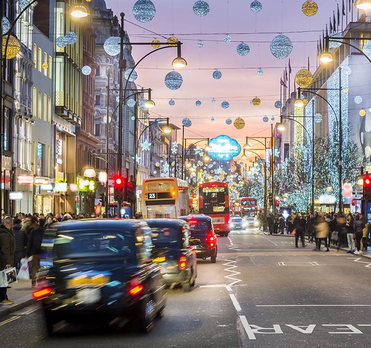A London Town Scene