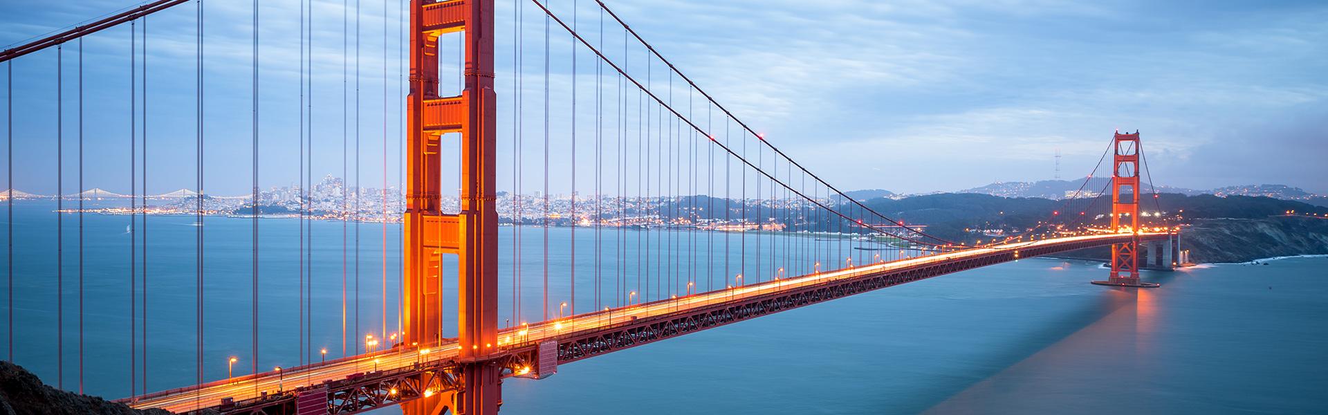 Die Golden Gate Bridge
