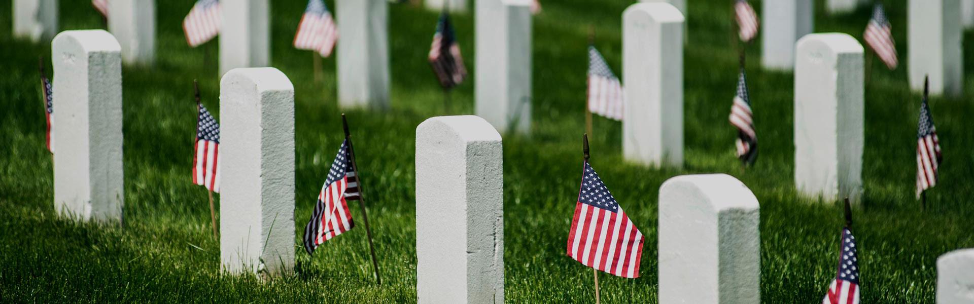 Arlington Cemetery in Washington DC