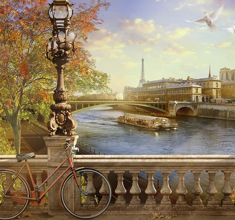 An autumn day on the Seine
