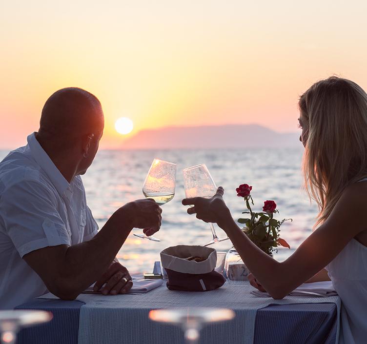Beach restaurant in Muscat