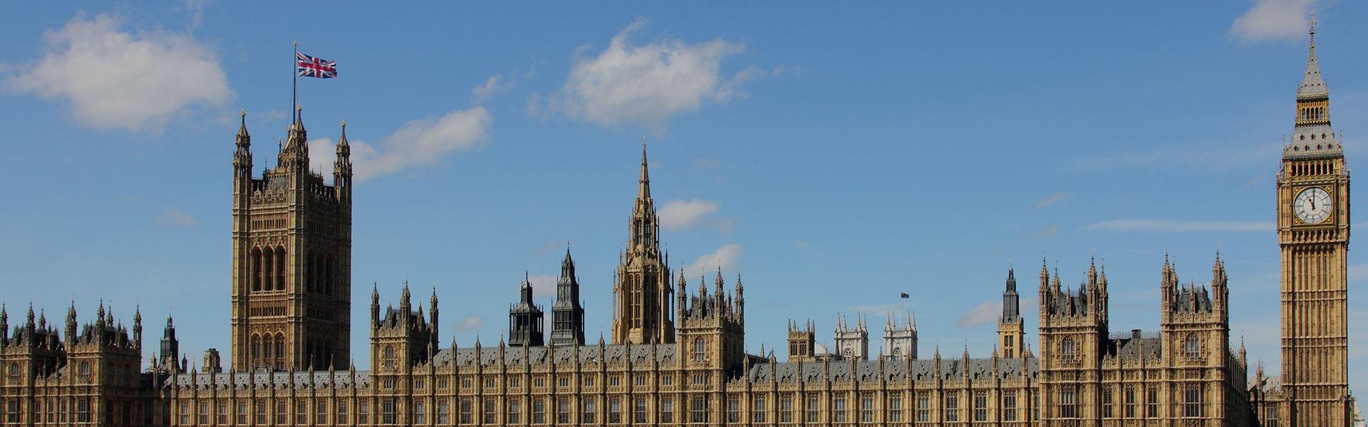 Big Ben et les Chambres du Parlement