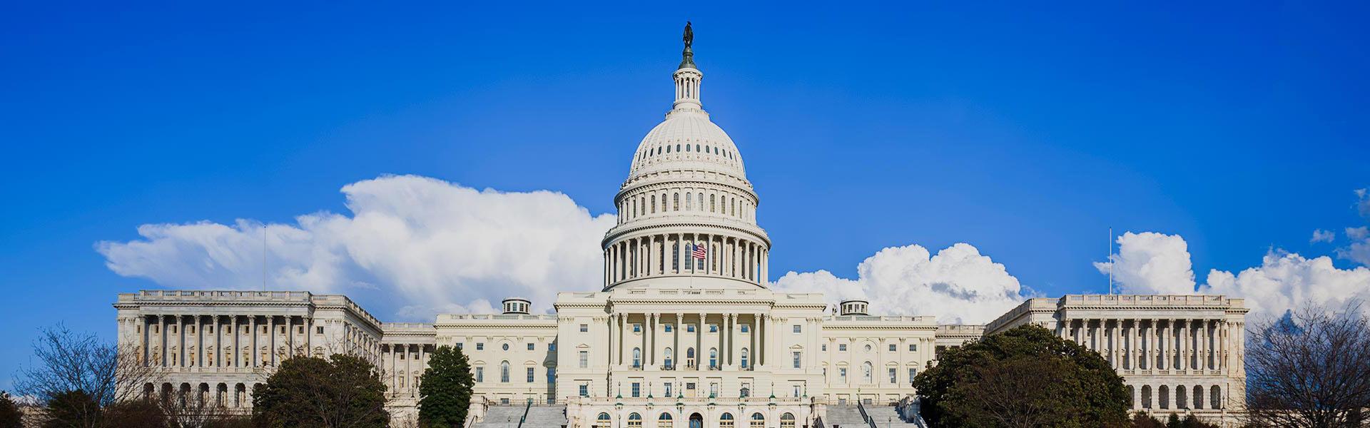Capital Hill in Washington DC