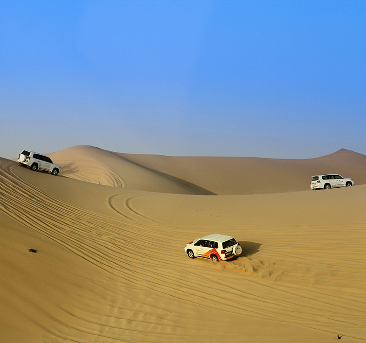 Wüstentouren in Abu Dhabi
