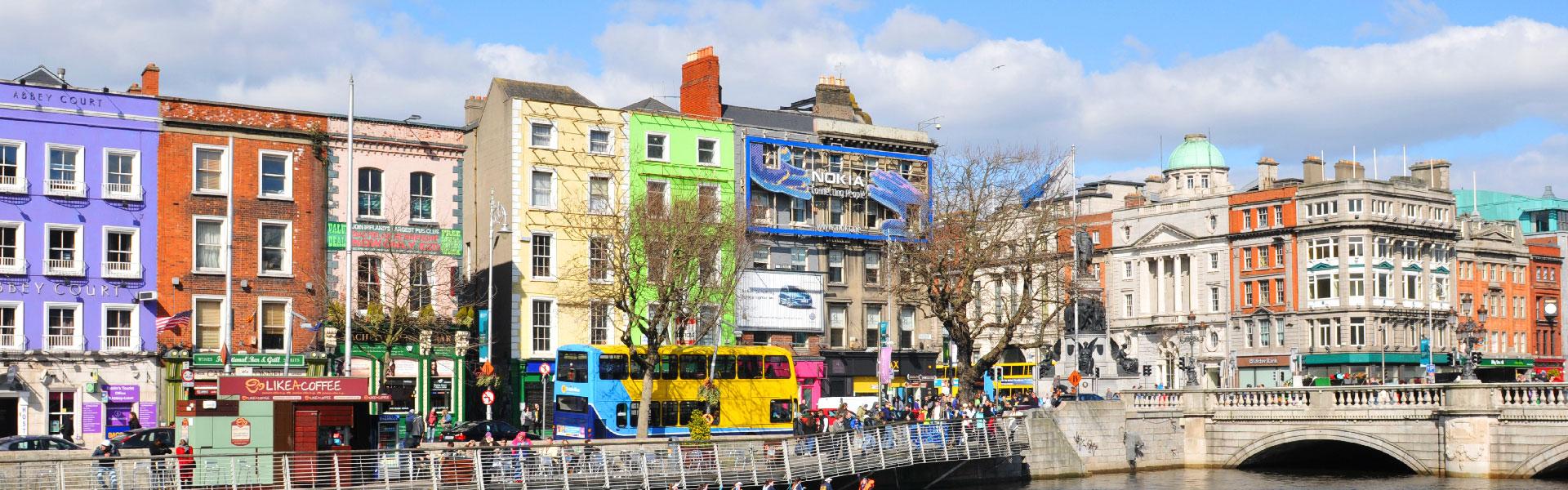 Dublin in the sun