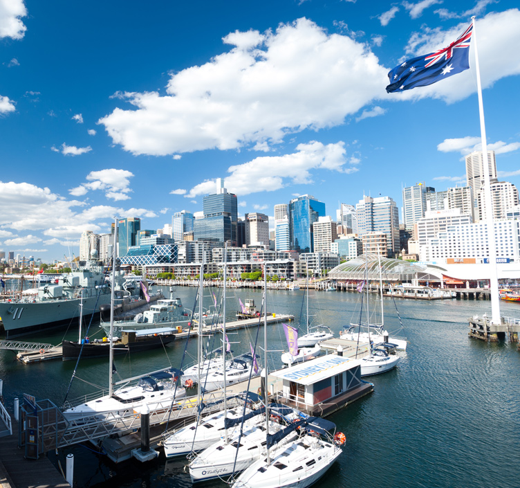 Darling Harbour in Sydney