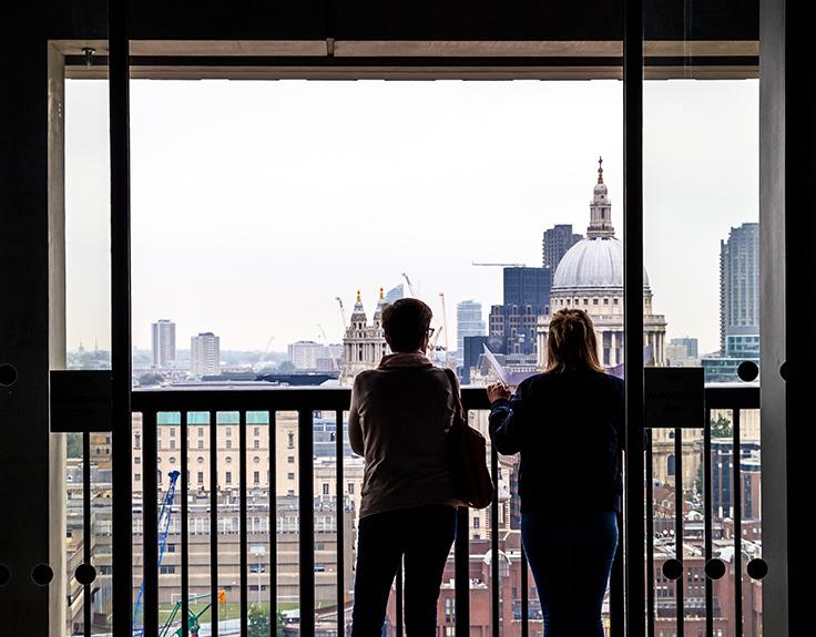 Dachgeschoss des Blavatnik-Gebäudes im Tate Modern Switch House