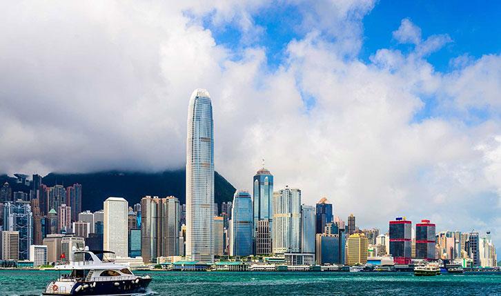Two IFC in Hong Kong