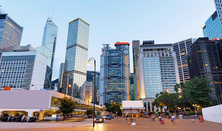 香港中环区