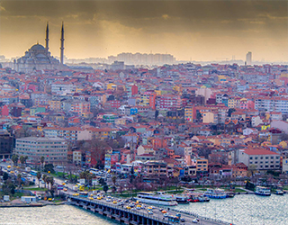 The Old Town in Istanbul