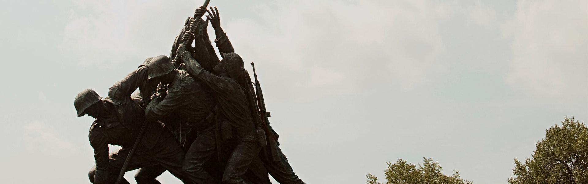 Iwo Jima War Memorial in Washington DC