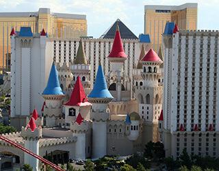 Excalibur Castle Hotel in Las Vegas