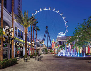 High Roller Ferris Wheel in Las Vegas