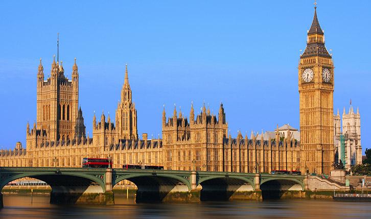 Big Ben und die Houses of Parliament