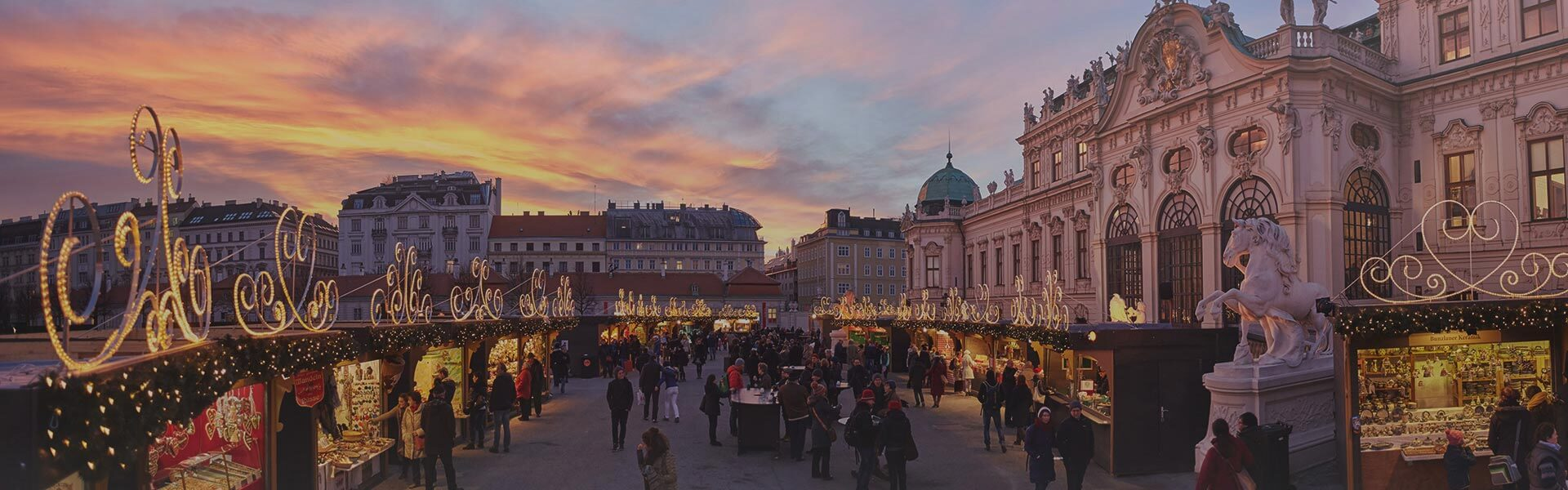 Christmas Markets at Belvedere Palace