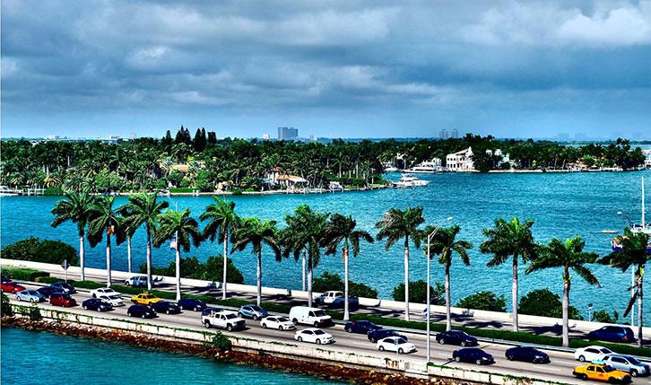 MacArthur Causeway de Miami