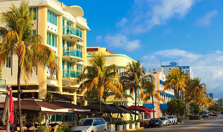 Bares de Ocean Drive en Miami