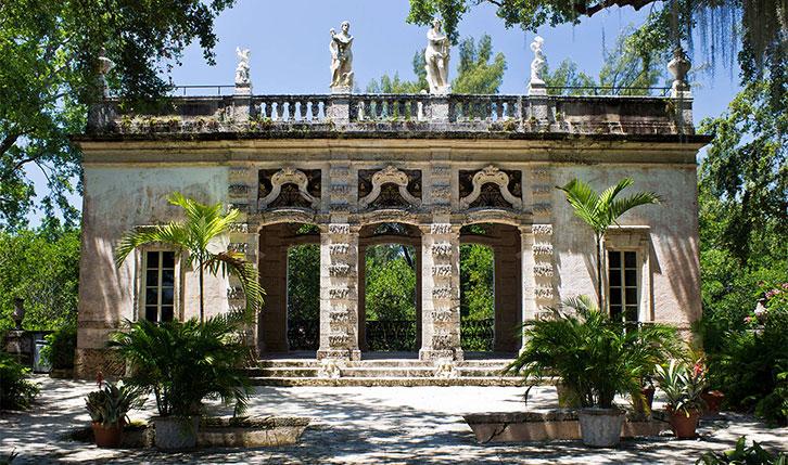 Museo y Jardines Vizcaya de Miami