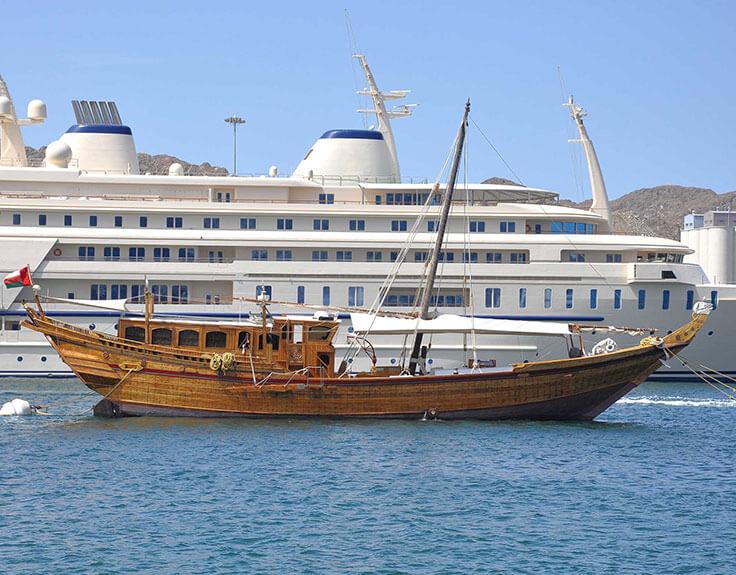 Marina in Muscat