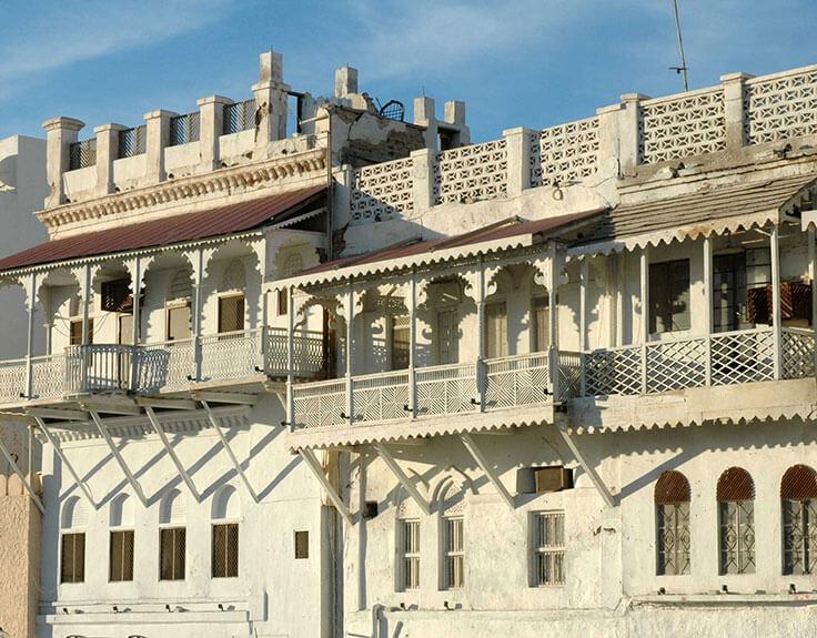 Old Quarter in Muscat