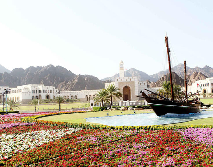 Parliament Building in Muscat