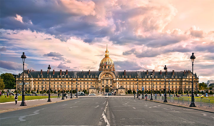 L'Hôtel des Invalides à Paris