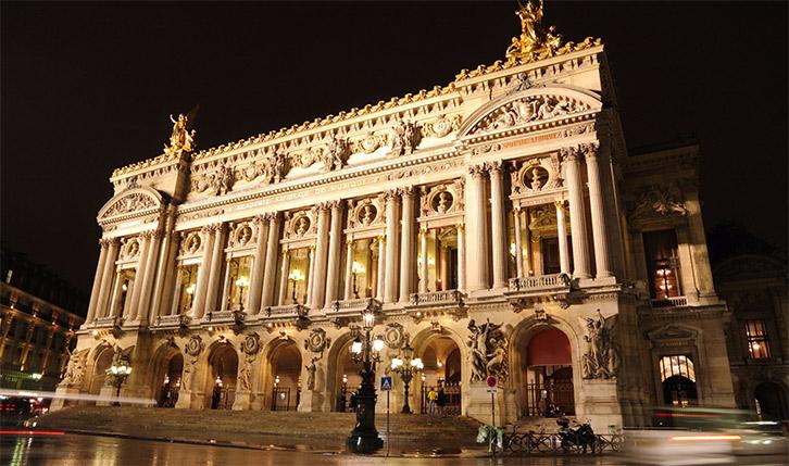 L'opéra de Pars à Paris