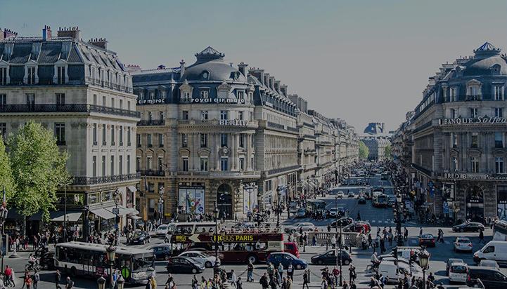 View of Paris Avenue 'Opera