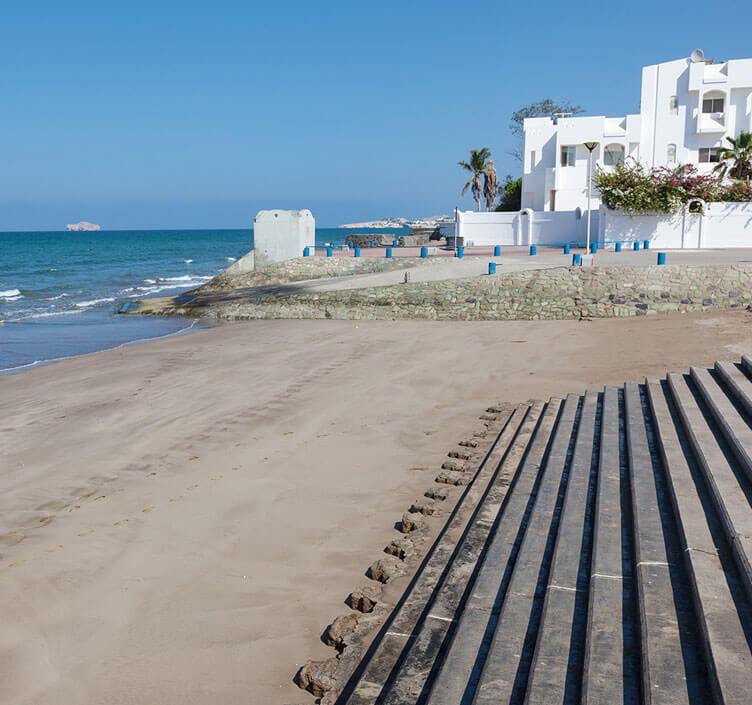 Qurum Beach in Muscat