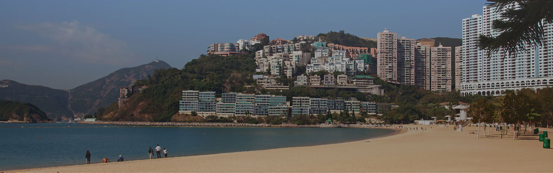Beach at Repulse Bay in Hong Kong