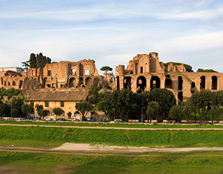 Palantine Hill in Rome