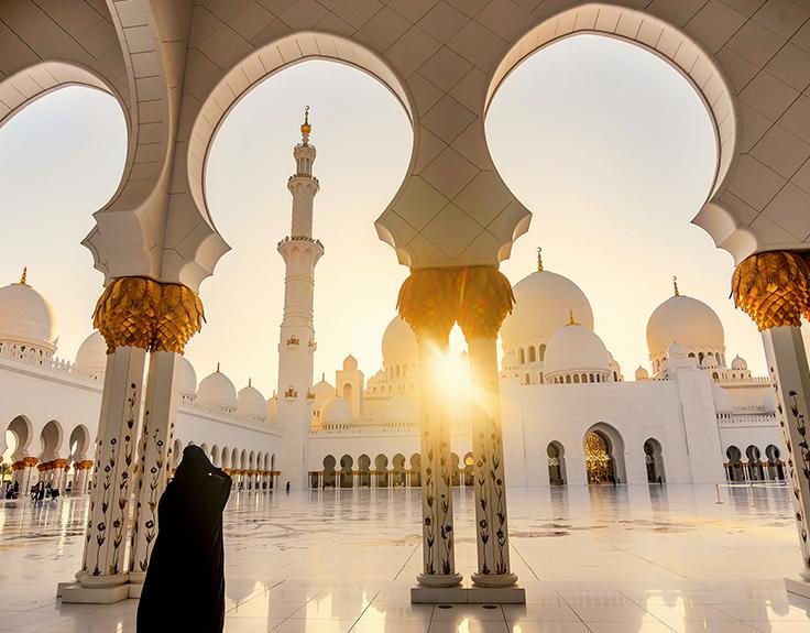 Abu Dhabi im Sommer