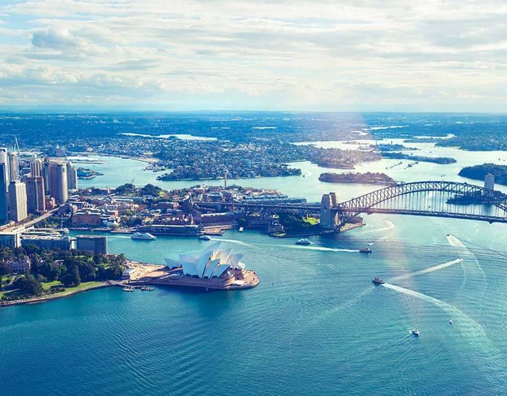 Sydney Harbour in Sydney