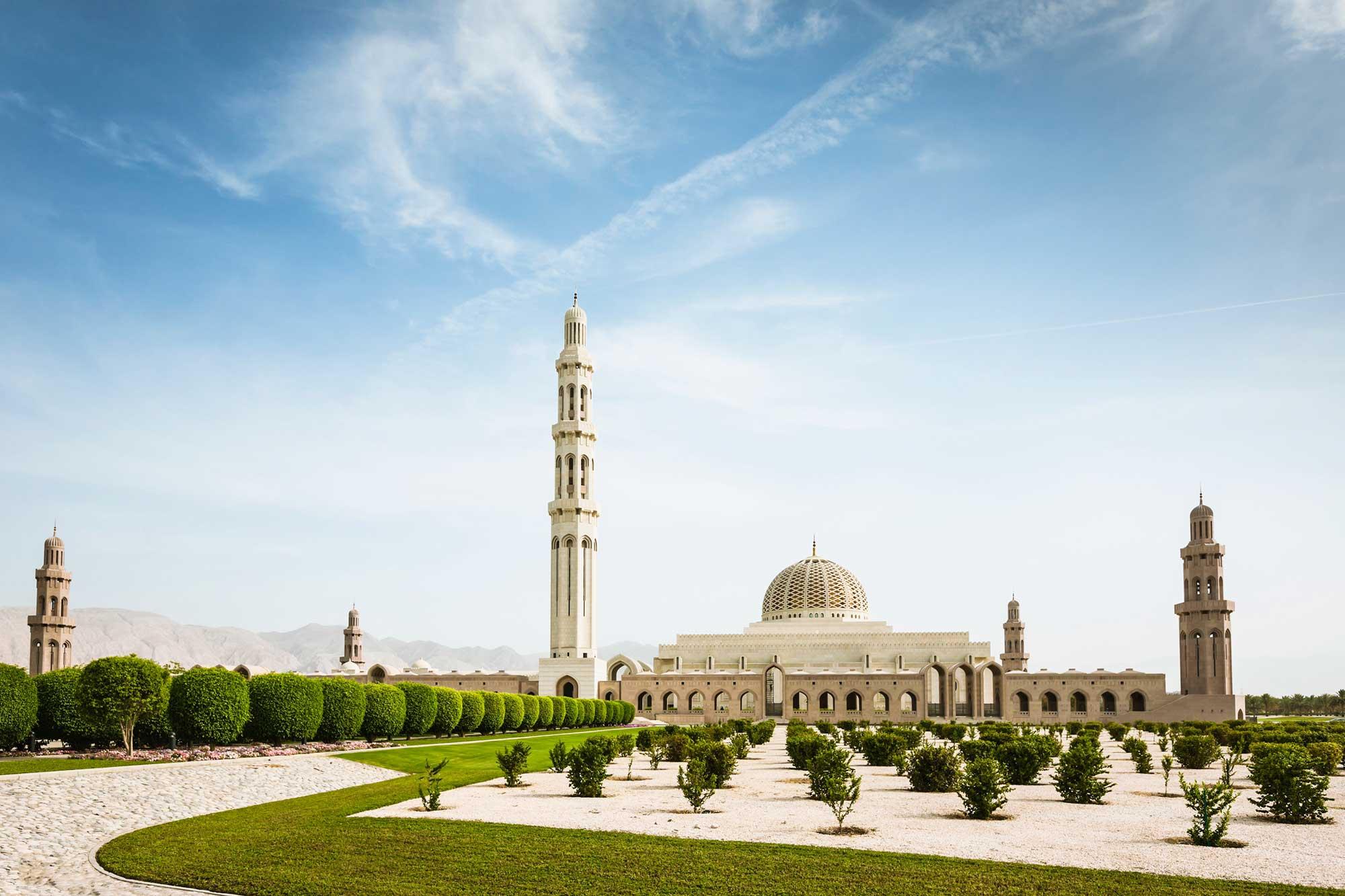 Mosque in Muscat