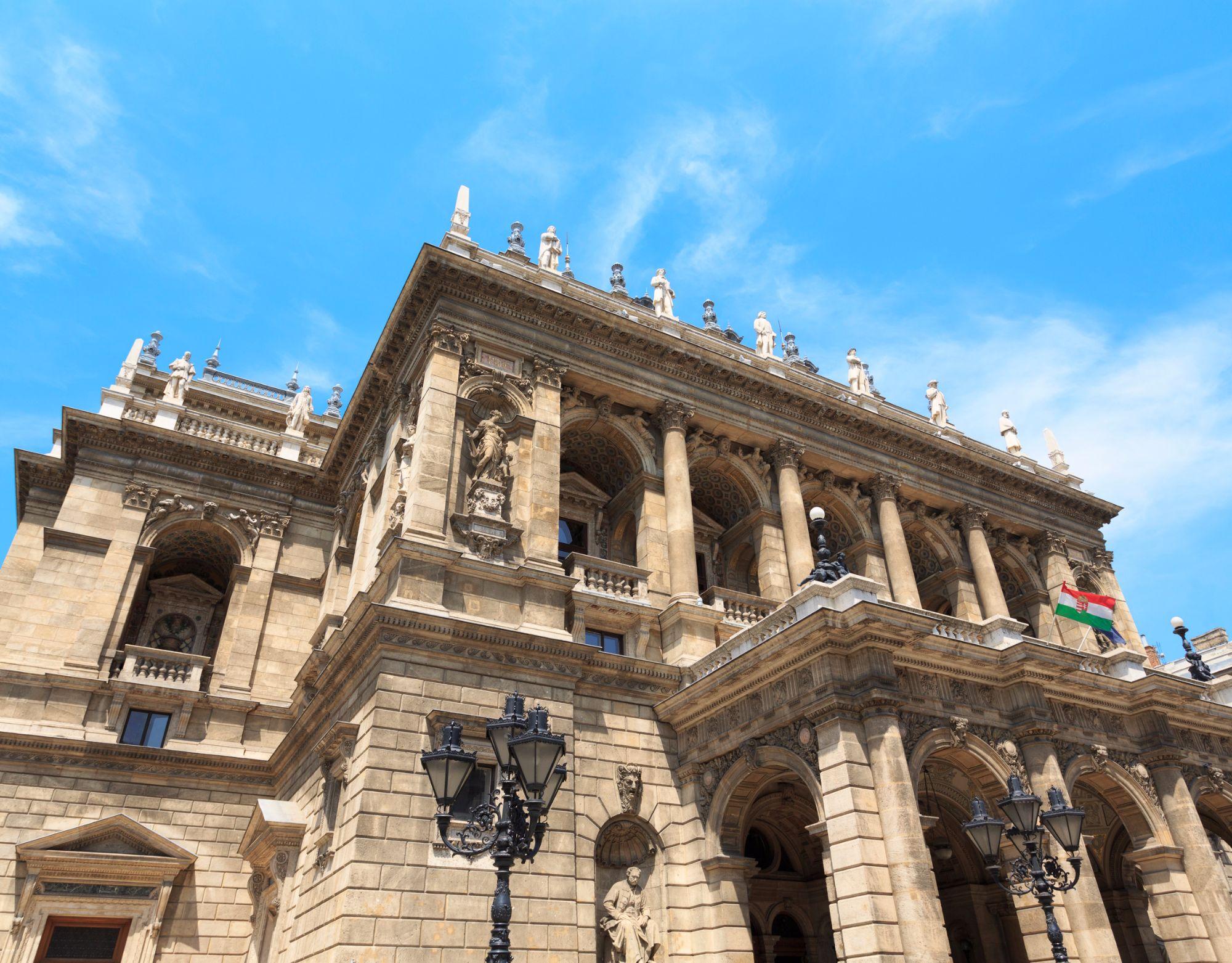 Opera House Budapest Riverside View