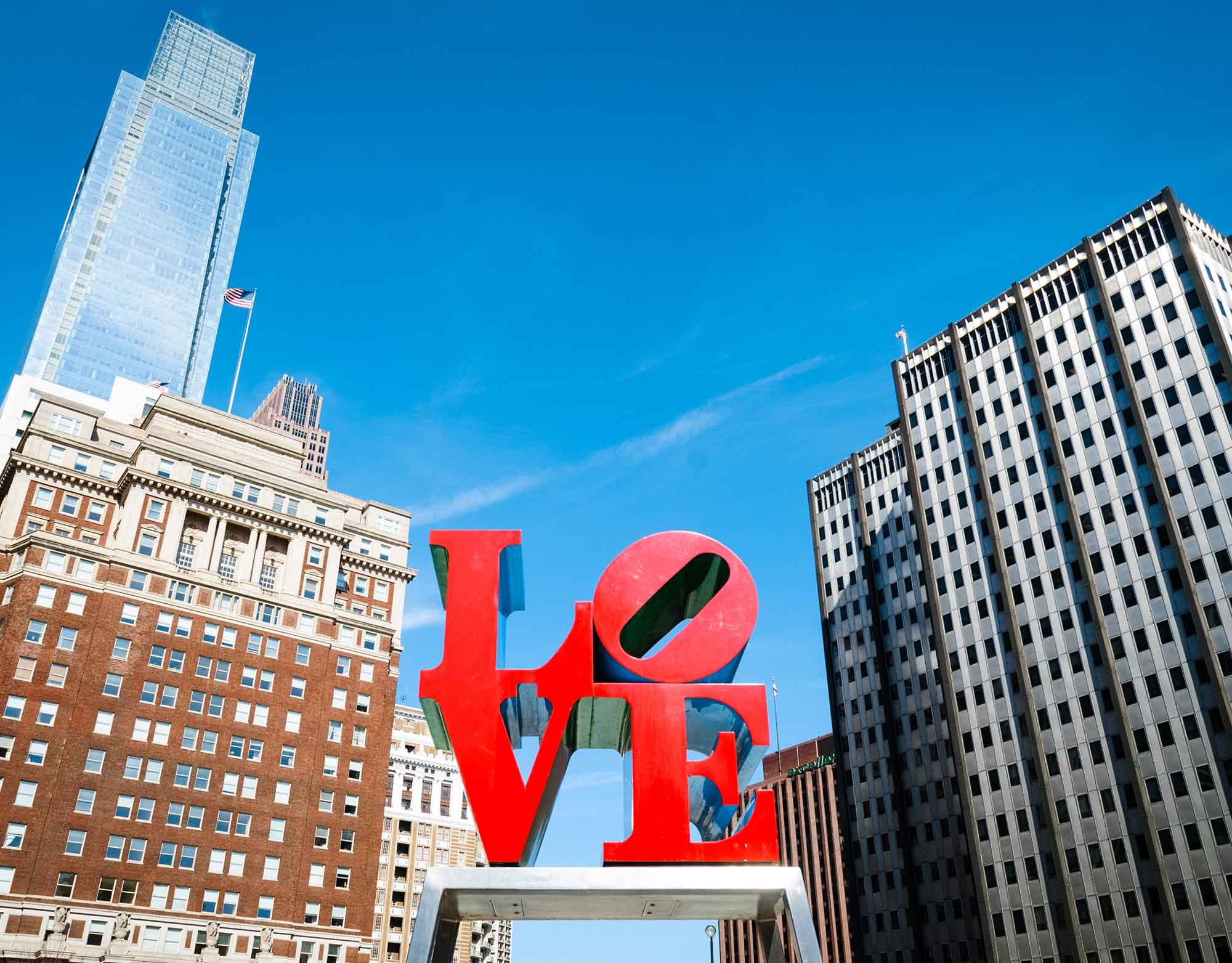Love Sculpture in Philadelphia