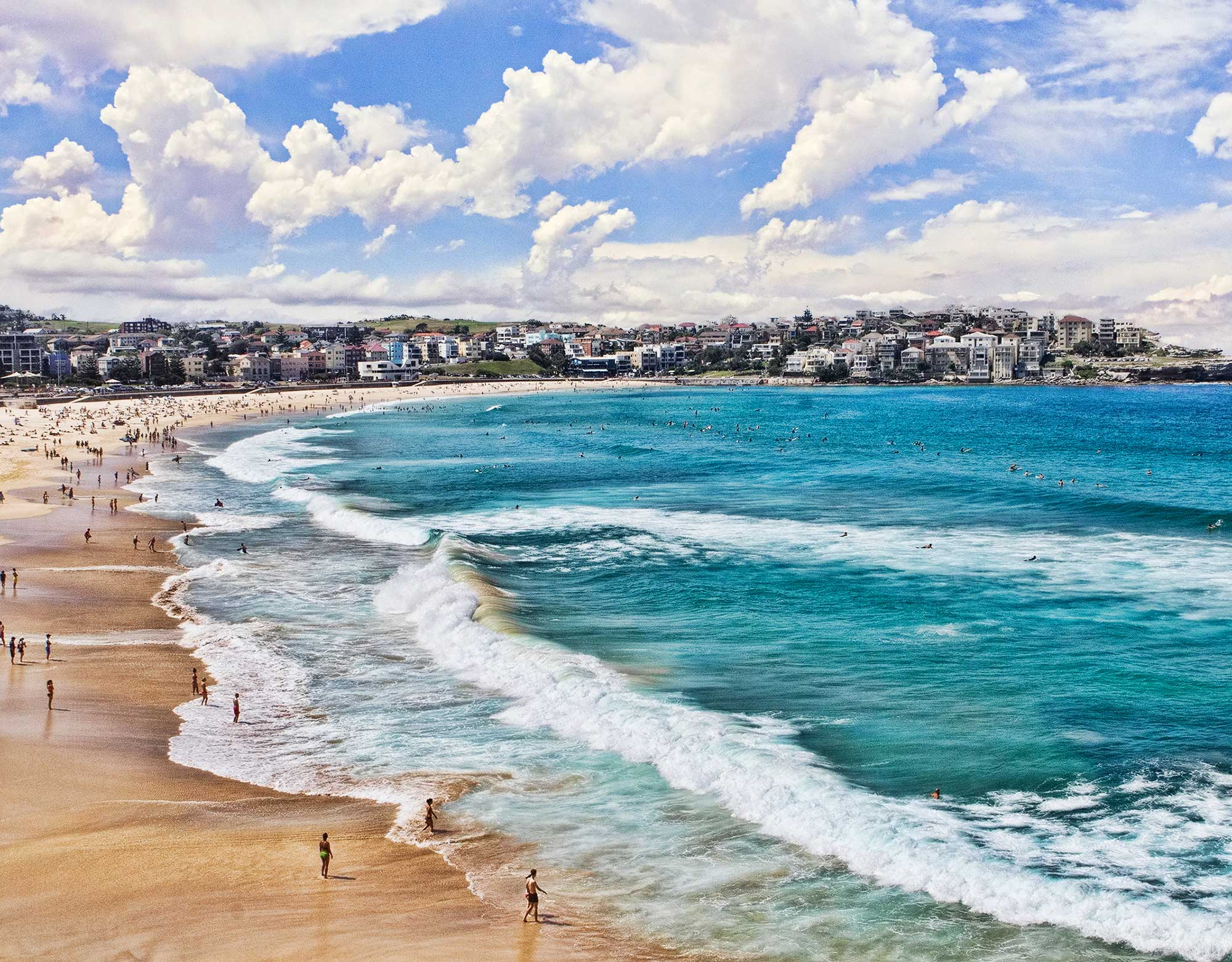 Bondi Beach in Sydney