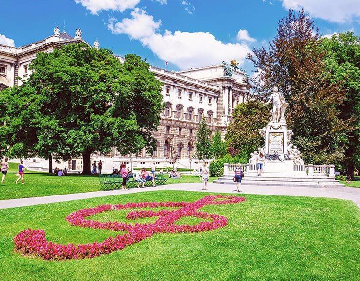 Burggarten in Vienna