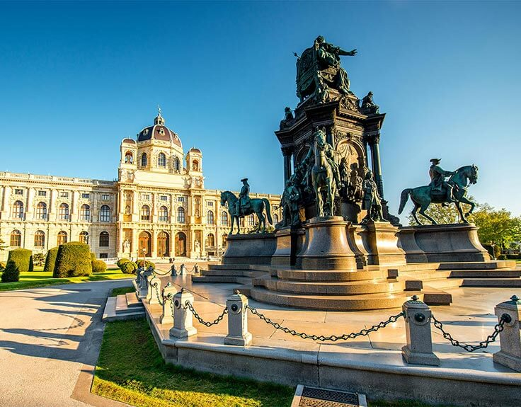 Maria Teresa Monument in Vienna