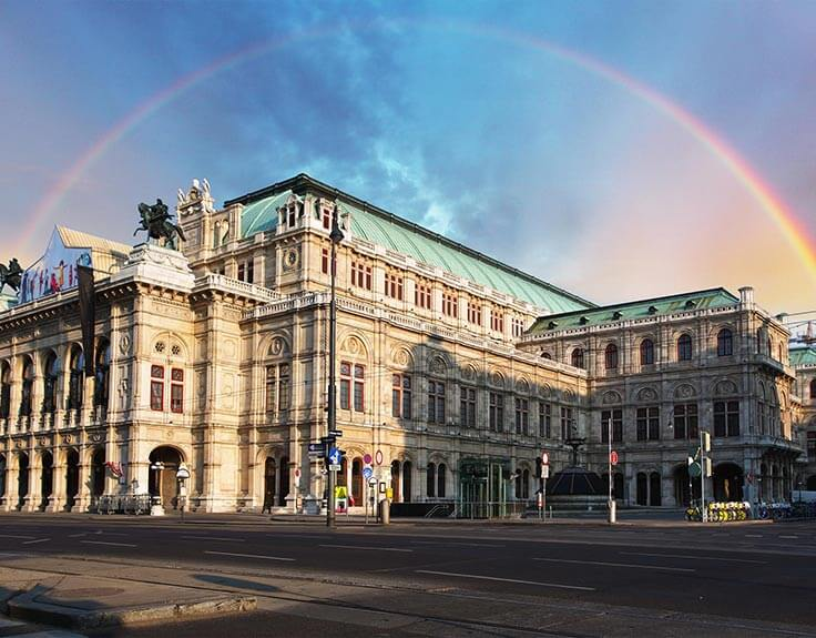State Opera Building in Vienna