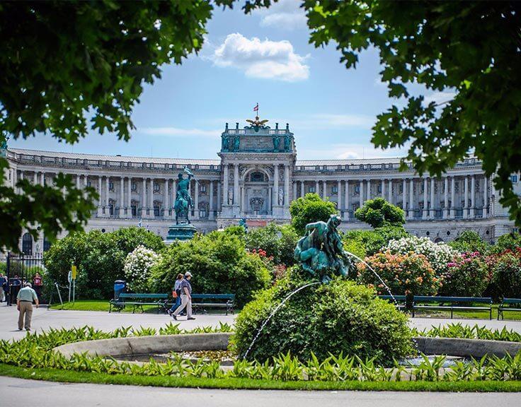 Volksgarten in Vienna