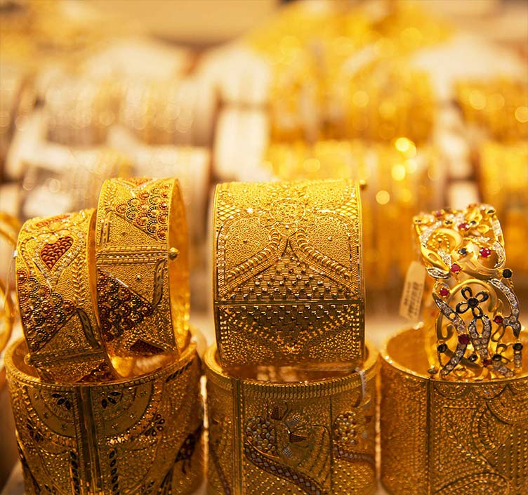 Gold-Souk in Dubai