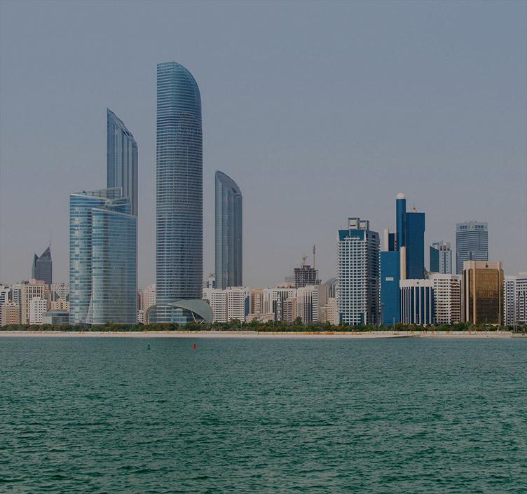 Die Corniche in Abu Dhabi