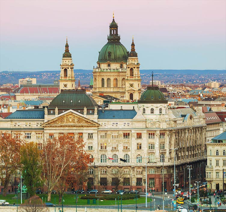 St. Stephens Basilica in Budapest